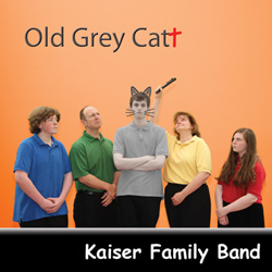 Old Grey Cat CD Cover